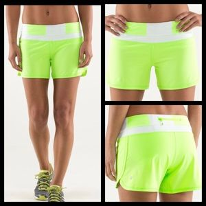 LULULEMON Groovy Run Shorts Stretch Running 2